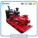 Combate a incêndio centrífuga auxiliar do motor diesel da bomba de água