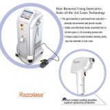 Máquina aprobada por la FDA de la belleza del retiro del pelo del laser del retiro del pelo del laser de 808 diodos