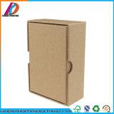 Caja de cartón acanalado rectangular fuerte rígida del OEM
