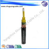 XLPE a isolé le câble de commande flexible examiné par Cu engainé par PVC