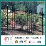 Giardino tubolare d'acciaio della rete fissa del giardino che recinta la rete fissa del giardino del ferro saldato