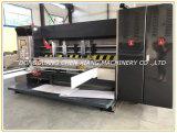 Máquina que ranura y que corta con tintas de la impresión acanalada Lleno-Auto de 4 colores