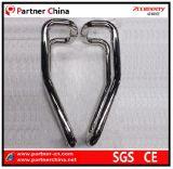 Manija moderna del tirón del acero inoxidable 304 para la puerta de cristal (01-130)
