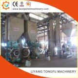 Proceso completo de la línea de fabricación de pellets de madera