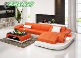 G8009d大型L形の居間のソファー