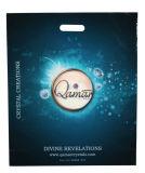 Sacos de compras de LDPE de marca para Dom Embalagem (FLD-8504)