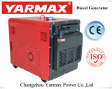 Yarmax 5kVA 6kVA en silencio Generador Diesel Motor Diesel