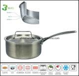 調理器具3つの層複合材料の鍋