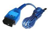 ФИАТ USB+for Multi-Просматривает диагностическую развертку 2 ECU ФИАТА блока развертки Kkl+for в 1 кабеле VAG 409