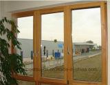 Finestra della tenda della lega di alluminio per l'abitazione usando
