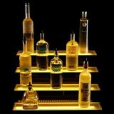 Professional Acrylic LED It Wine Display Clouded Acrylic Wine Display To manufacture
