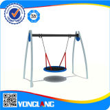 Child Play Centre Plastic Swing and Slide Indoor Playground (YL-HT037)