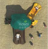 Campo de jogos do estojo compato da caraterística da selva do grupo de Kaiqi