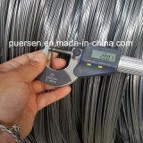 Faible sur le fil en acier au carbone Matériau du fil de fer galvanisé