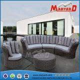 藤の家具の庭の家具のテラスのソファーセット