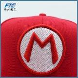 3D personalizadas bordados gorra de béisbol de tapones de plástico con tapa Snapback