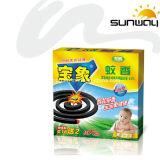 De rookloze Lange Rol van de Mug van de Tijd Burnning Zwarte voor Baby