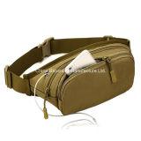 I militari tattici della cinghia del pacchetto di Fanny della vita viaggiano facendo un'escursione il sacchetto corrente