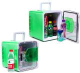 Usinas Termoelétricas Mini frigorífico 8 litro DC12V, AC100-240V tanto em função de aquecimento e refrigeração