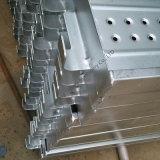 يغلفن فولاذ لوح/مشية لون/ممرّ ضيّق لأنّ سقالة نظامة