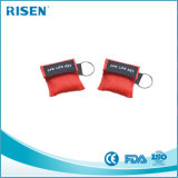 Medizinische Schablone CPR-Schablone Keychain CPR-Resuce