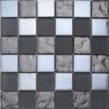 Mosaico arrugginito dell'ardesia e mosaico di vetro per la decorazione