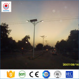 IP65 10m de la rue Pole 80W Lampe solaire avec lumière LED Pole // Ce certificat Soncap