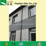 Painel ao ar livre impermeável profissional da fachada do revestimento do cimento da fibra