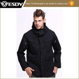 2-цветов Esdy мужской куртки открытый тактических теплое пальто с ветровку