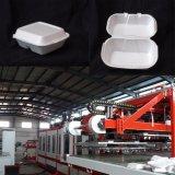 Voller automatischer PS-Schaumgummi-Mittagessen-Kasten, der Maschine herstellt