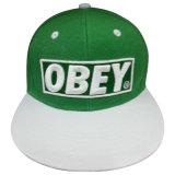 اثنان نغمة قبعة مع علامة تجاريّة [غج8د]