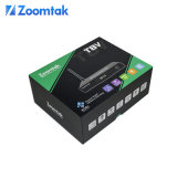 Zoomtak Nouvelle arrivée Quad Core Android intelligente Stream TV Box T8V
