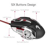 связанные проволокой 2400dpi мыши разыгрыша USB оптически (M-73)