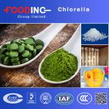 Spirulina orgânico, Chlorella, Wheatgrass e mistura da grama de cevada