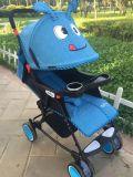 Самая лучшая продавая складная прогулочная коляска младенца ягнится прогулочная коляска