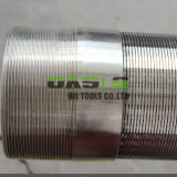 SUS316L 304ワイヤーによって包まれる水十分スクリーンの管