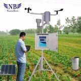 Estação de tempo para a monitoração exterior da atmosfera