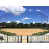 Knotlessツイスト網の多野球のバッティング・ケージネットおよびフレーム