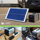 Высокая емкость портативный генератор солнечной энергии в бич/ Кемпинг