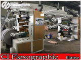 Haute Vitesse Couleur du papier ondulé (4) l'impression flexographique Appuyez sur la machine (Ch886-600)