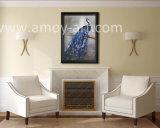 高品質のキャンバスのハンドメイドの孔雀の油絵