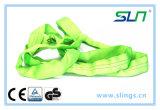 Imbracatura rotonda infinita di verde 2t*5m con Ce/GS