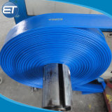 De PVC reforzado quedar plana la manguera de descarga de agua de piscina Tubo /