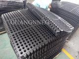 Переплетение Fire-Resistant дренажных резиновый коврик пола