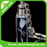 Regalos promocionales de la moda de cristal Llavero con gancho (SLF-OK006)