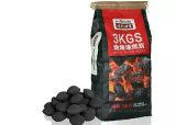 Bolso de la briqueta del carbón de leña de la madera dura de la bolsa de papel del Bbq Kraft