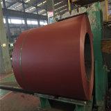 Chapa de aço galvanizada revestida cor nas bobinas /PPGI para a telhadura