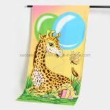 動物デザインMicrofiberか綿によって印刷される漫画のテリーのビーチタオル