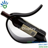 Titular de la botella de vino de acrílico