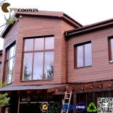 Cubriendo la pared exterior compuesto Wood-Plastic